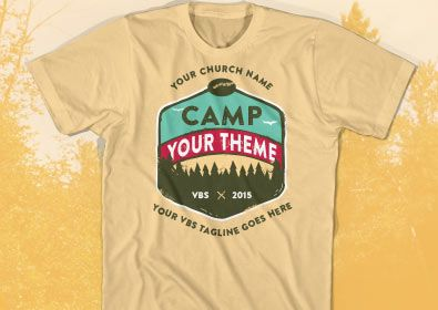Shirt Idea Summer Camp Ideas Pinterest Vbs Themes