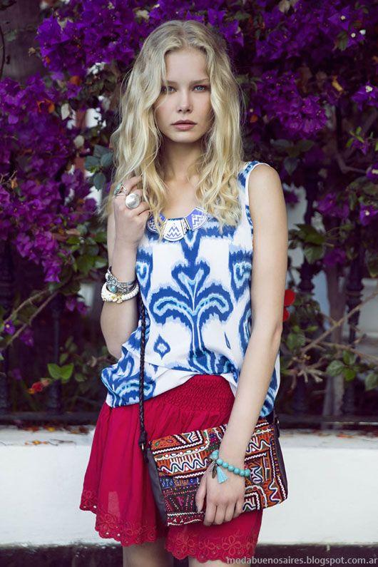 India Style primavera verano 2014 moda.
