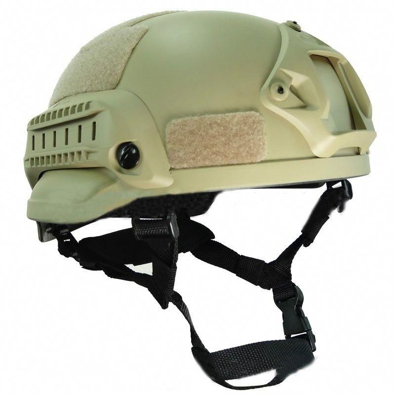 aef66f2b1e4 Mich 2002 Style Tactical Operation Airsoft Paintball Helmet wargame ARC  Rail NVG Mount   Price
