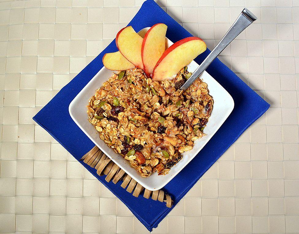Fallspice granola recipe healthy gluten free granola