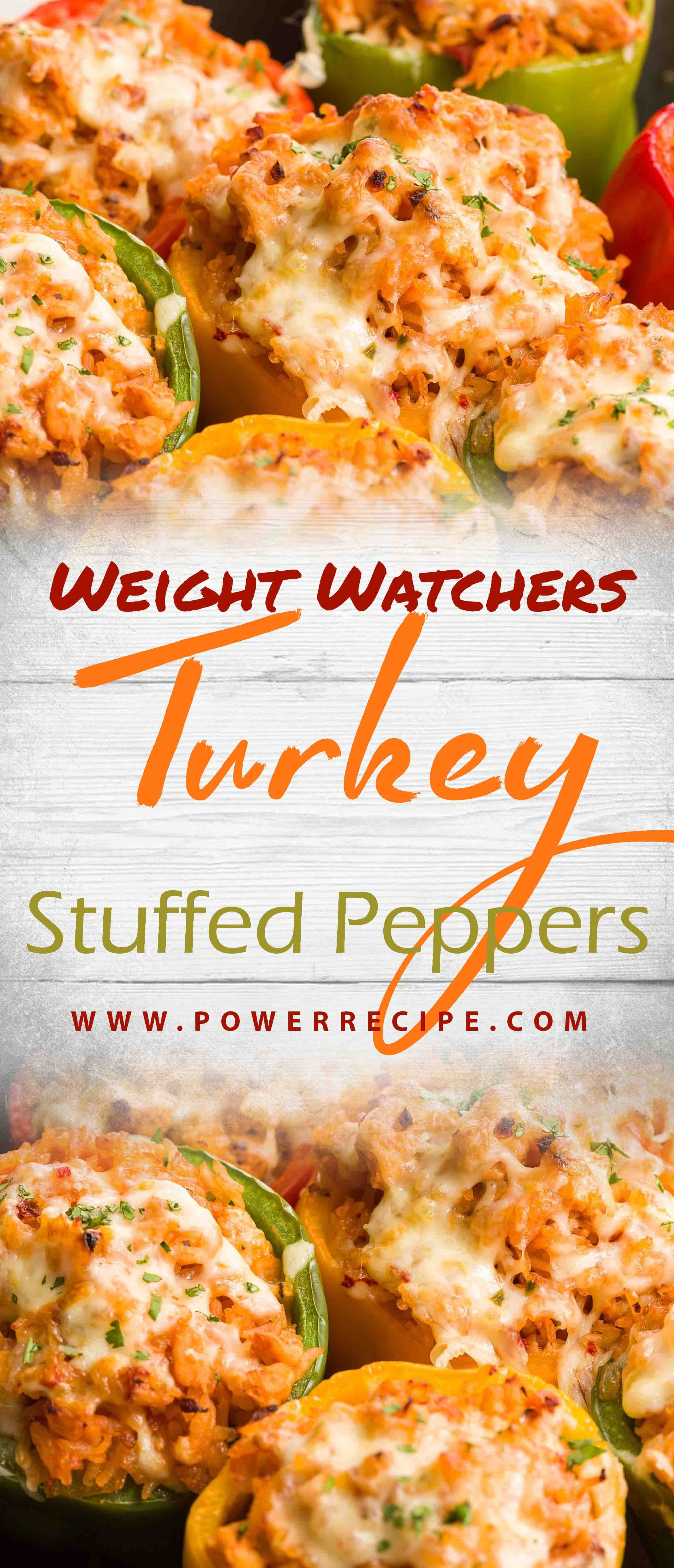 Photo of Turkey Stuffed Peppers combine ground turkey, tons of vegetables, and pepper jac…