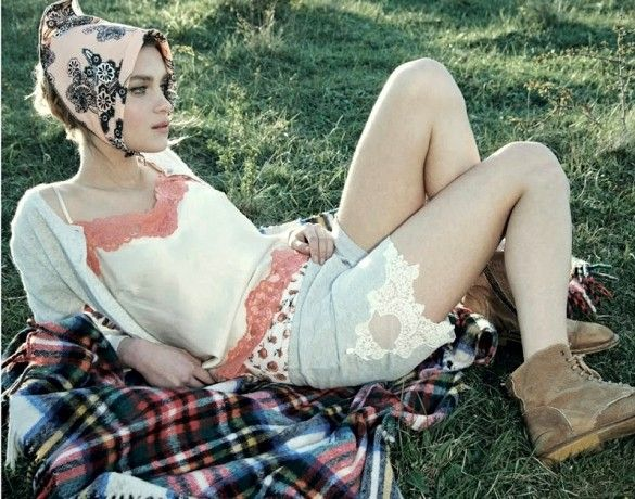 Picnic Style Inspiration From D-La Repubblica via @WhoWhatWear