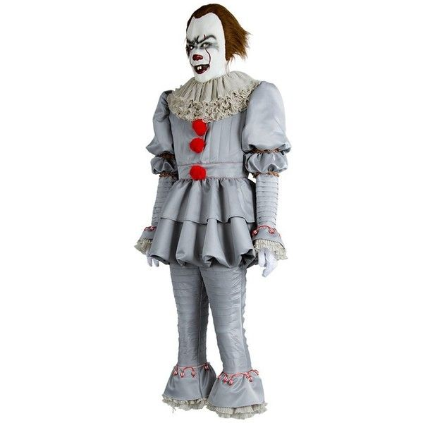 Fancycloth Halloween Clown Cosplay Costume Stephen King Pennywise... ($32) ? liked  sc 1 st  Pinterest & Fancycloth Halloween Clown Cosplay Costume Stephen King Pennywise ...