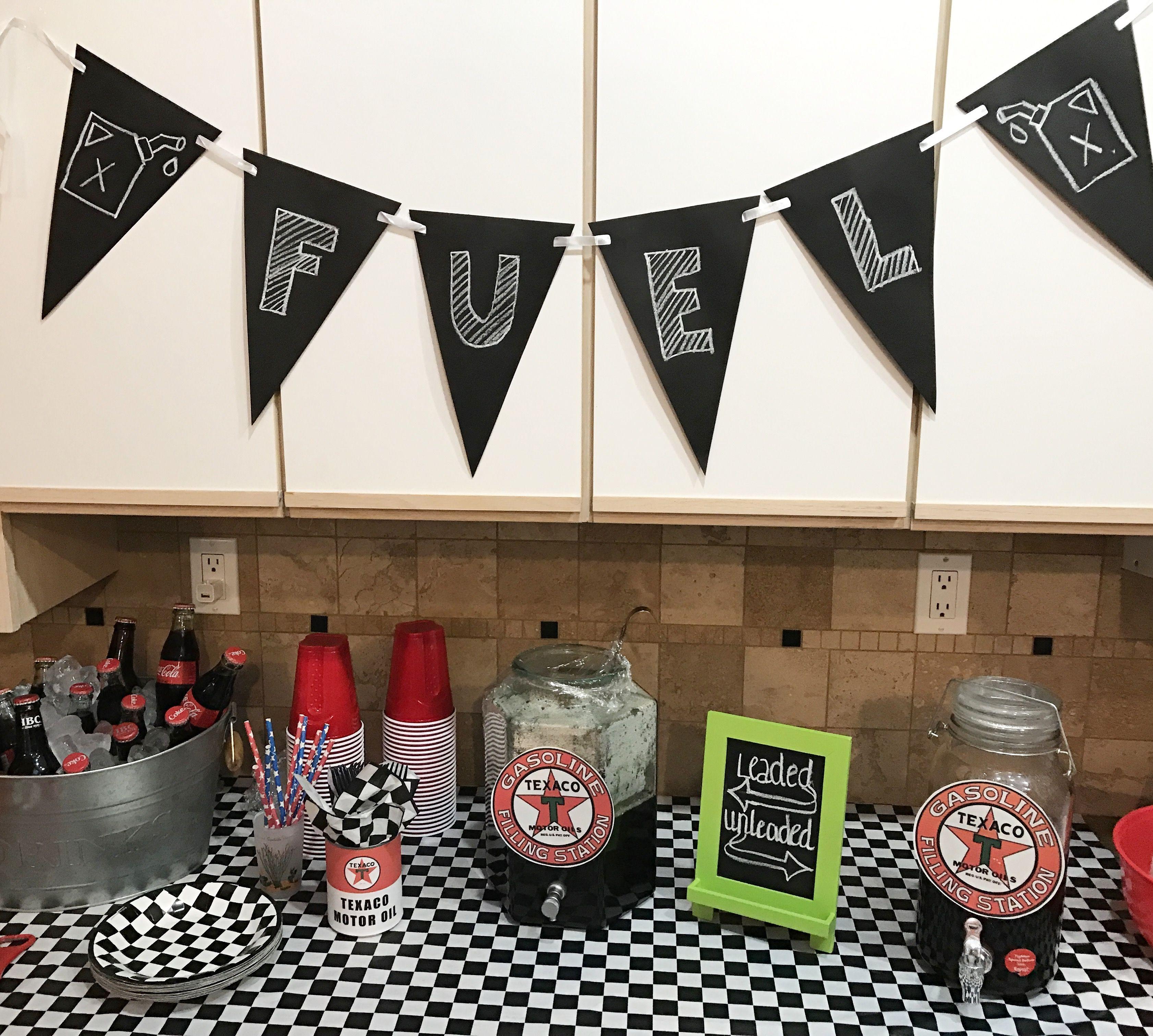 Darrel's 70th Birthday Fueling Station