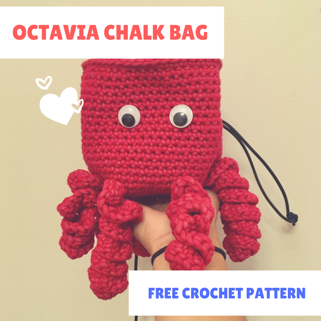 884b16730 This adorable octopus chalk bag will make anyone smile at the crag ...