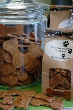 Organic dog treats in eco-friendly packaging www.pawsovertradition.com