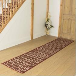 Photo of Flat weave carpet Anita in red