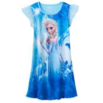 63e3eb27f4b86b Disney's Frozen Elsa Nightgown - Girls | Room idea | Frozen outfits ...