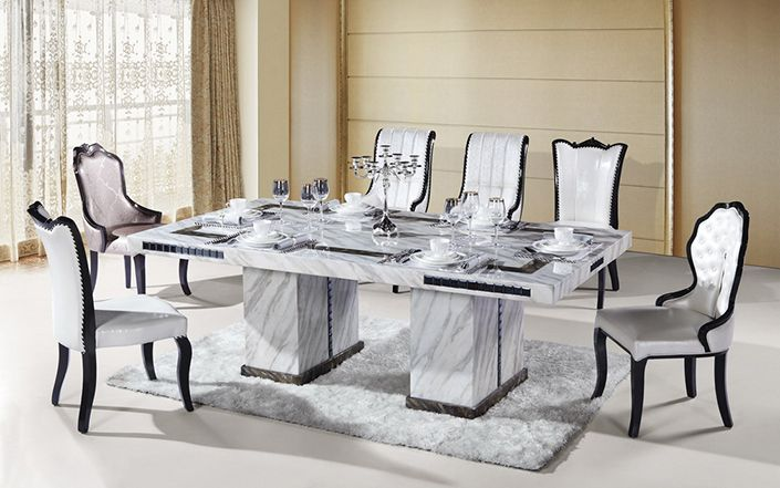 How to incorporate marble dining table into your interior design