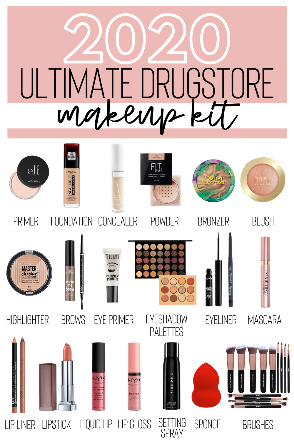 Looking for affordable makeup products that offer amazing quality? Check out this updated ultimate drugstore makeup kit for budget-friendly products to add to your routine.