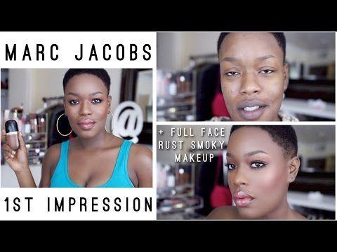 Marc Jacobs Genius Gel 1st impression Full Face Tutorial - YouTube