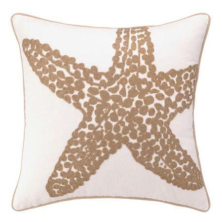 Island Starfish Pillow.