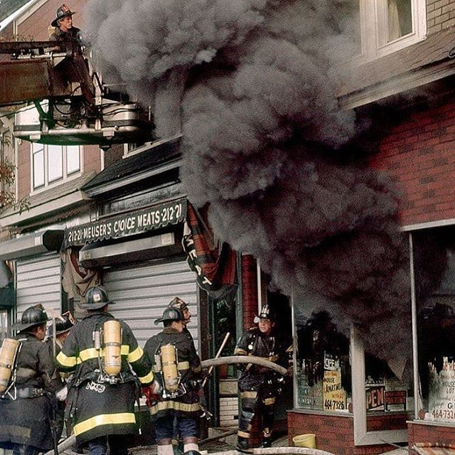 travelingthroughfire Salty Moment Vintage FDNY 1980