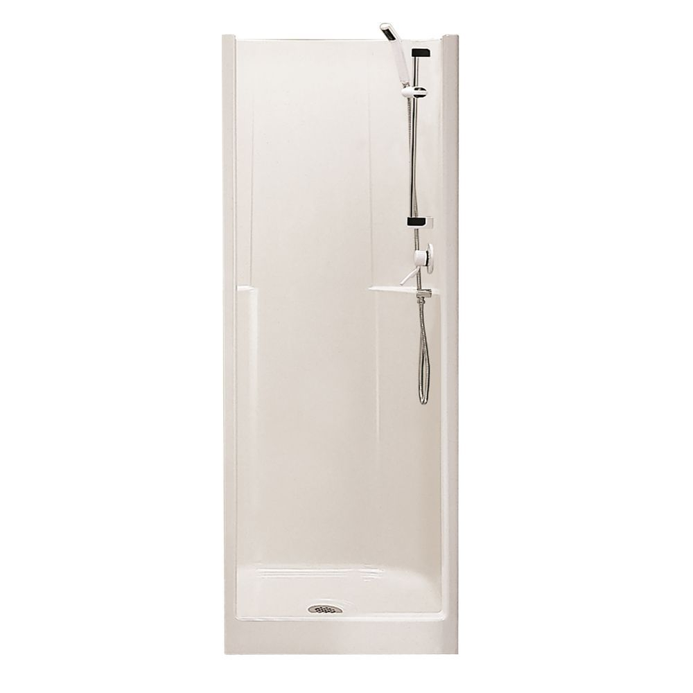 Biarritz P40 32 Inch X 29 Inch 1 Piece Shower Stall Basement Apt Shower Stall Corner Shower Kits Small Shower Stalls