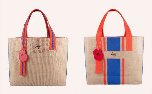 Amanda Wakeley Has Designed A Bag For Life Sainsbury S With 50p Going To The Royal British Legion