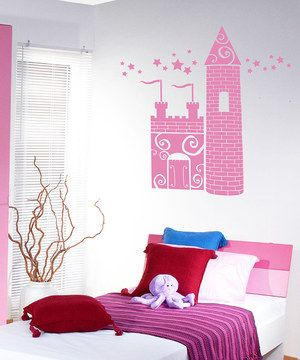 """28""""x35"""" Bring a unique touch to home décor quickly and easily with this convenient wall decal set. Perfect for adding a bit of character to the living room or a little one's bedroom, the charming design is sure to impress guests with its modern look."""