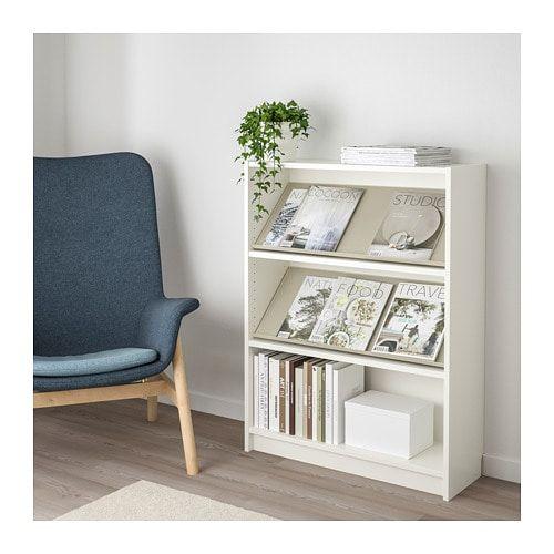BILLY / BOTTNA Bookcase with display shelf   black brown ...