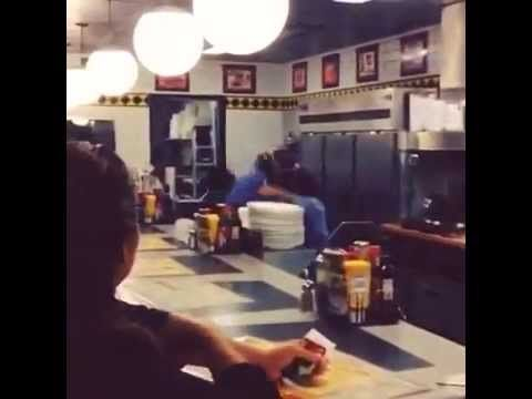 Can I get a waffle? *Fighting noises* CAN I PLEASE GET A WAFFLE? | Vine memes, Best memes, Can i please