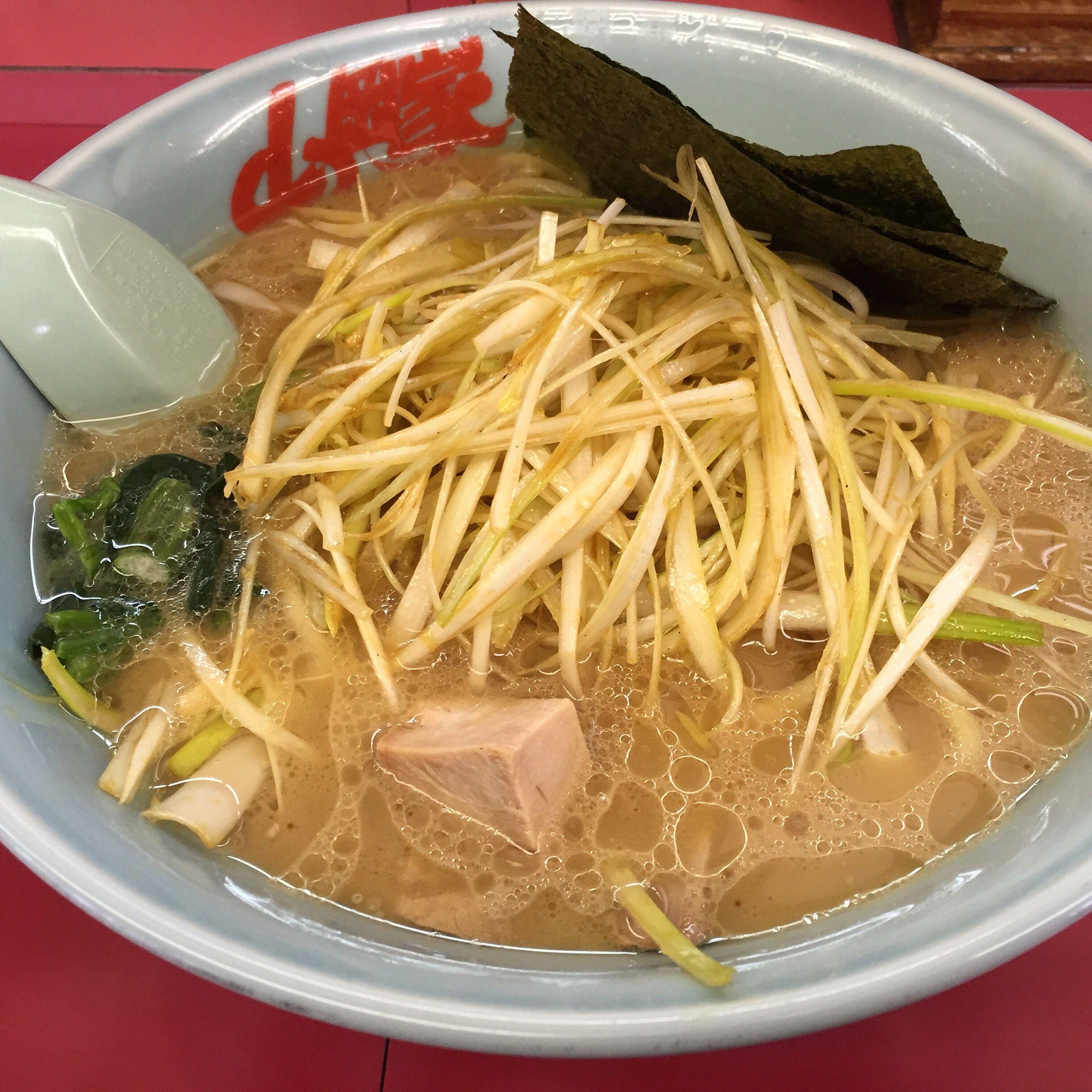 醤油ネギラーメン 山岡家新4号バイパス店 ラーメン 美味しい グルメ