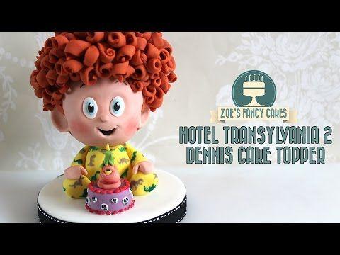 Hotel Transylvania 2 Dennis Cake Topper Cakesdecor Cupcakes