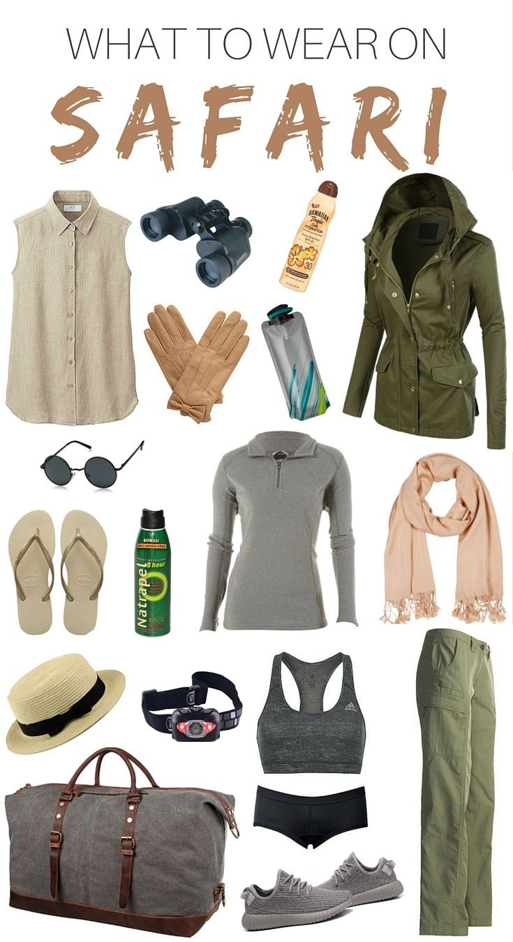 6ce573d5c12 WHAT TO WEAR ON SAFARI. I visited Kruger National Park in South Africa  during the winter months. This safari packing list will help you bring all  the ...