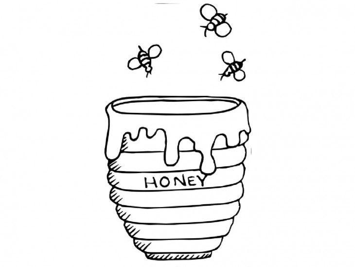 Estos Son Los Significados De Algunos Dibujos Que Hacemos Inconscientemente Bee Coloring Pages Winnie The Pooh Honey Coloring Pages