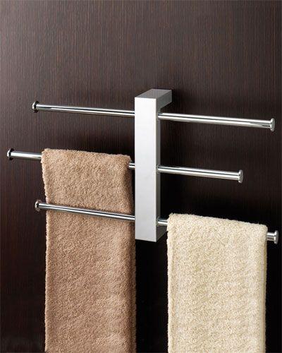 Cool Towel Rack Diseno De Banos Toallero Muebles De Acero
