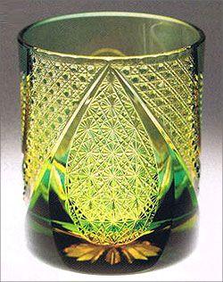 江戸切子 Japanese cut glass -edo kiriko-
