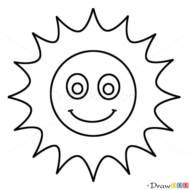 How To Draw Sun Kids Draw With Images Drawing For Kids Sun