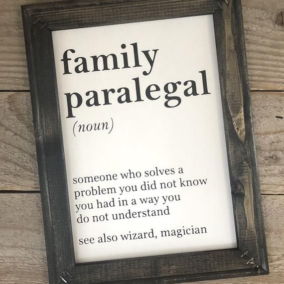 Paralegal Gift Paralegal Definition Lawyer Gift Funny