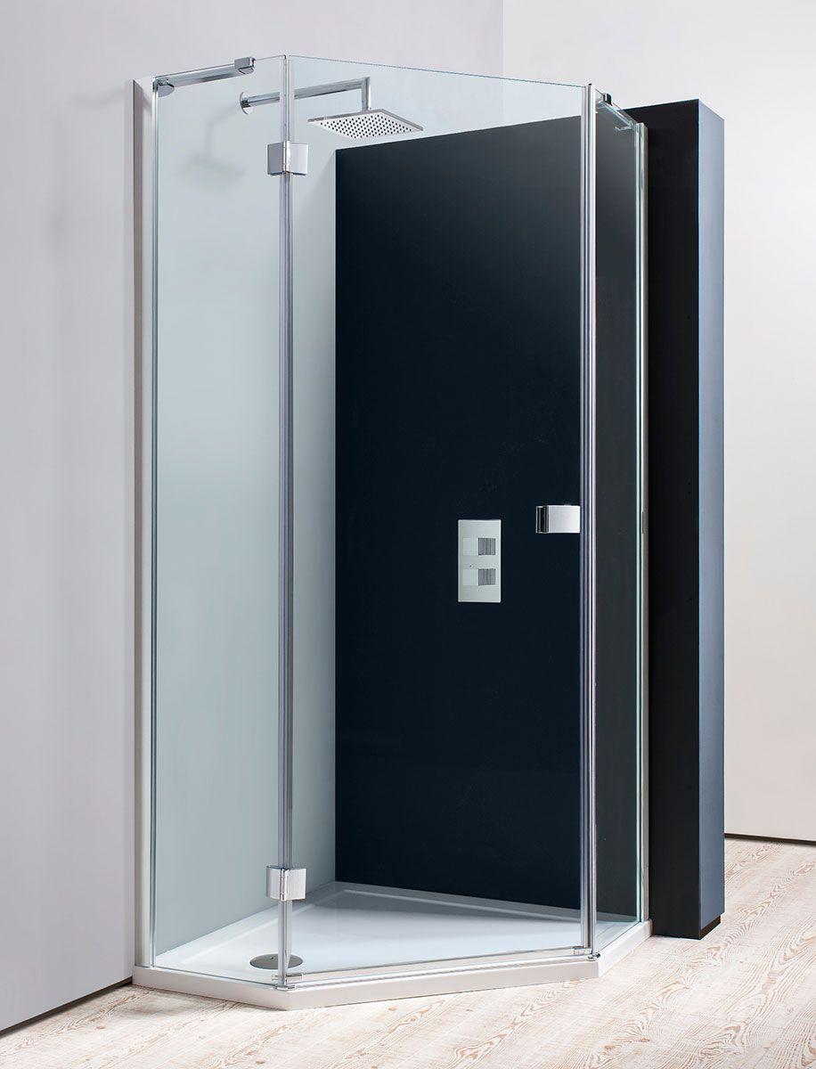 Design Pentagon Shower Enclosure in Pentagon | Luxury bathrooms UK ...
