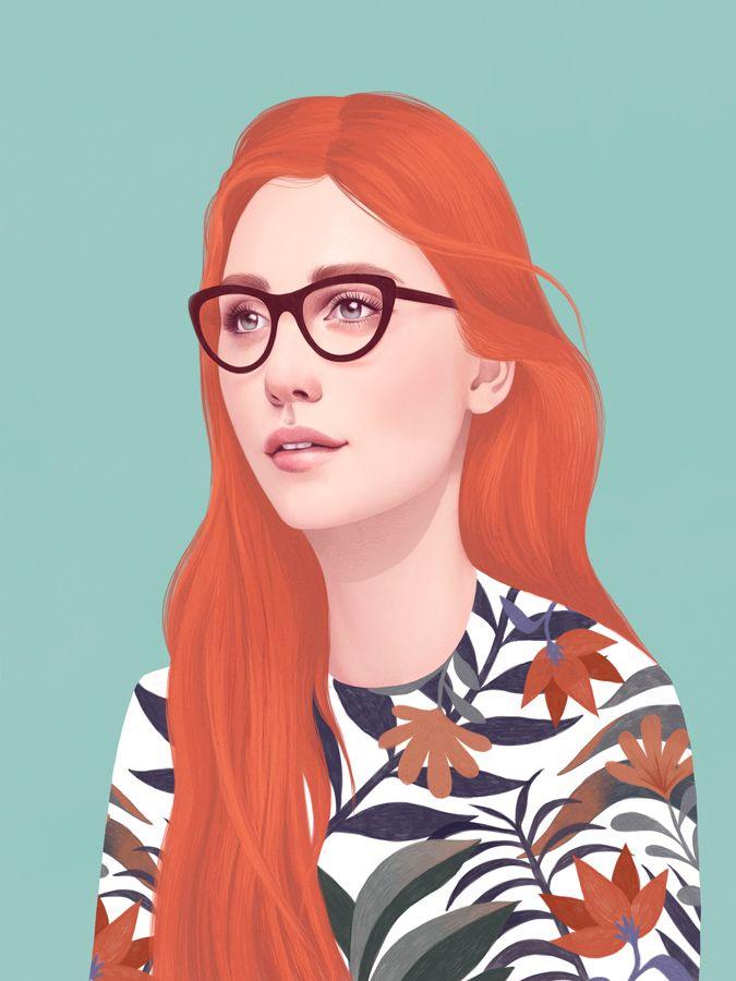 Folio illustration agency, London, UK | Mercedes DeBellard - Sketch - Realism - Portrait - Pencil - Pen - Digital - Art - Watercolour - Fashion - Detail - Work - Famous People - Icons - Hair - Illustrator