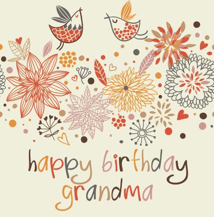 Happy birthday Granma!!!
