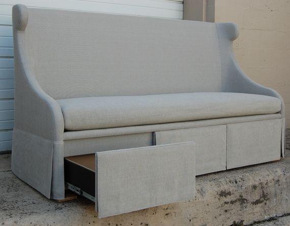 Banquette Storage Seats Desseault Sofas Seating Furniture Dering