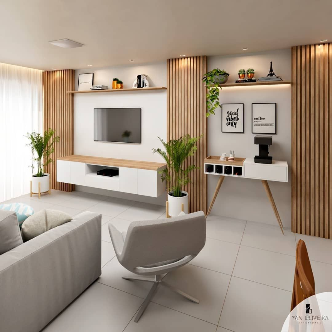 30 Stylish Bedroom Design Ideas With Tv Wall To Try Asap Stylish Bedroom Design Interior Design Living Room Stylish Bedroom