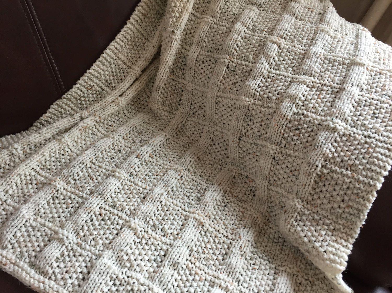 Lattice Baby Blanket ~Knitting pattern PDF. by DaisyGrayKnits on ...