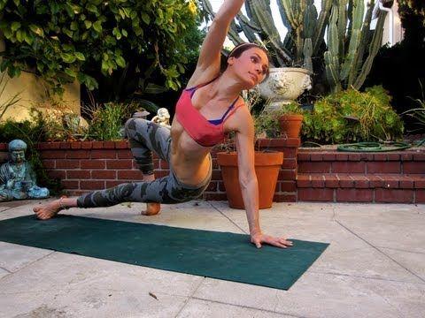 beginners power vinyasa yoga class full length hatha