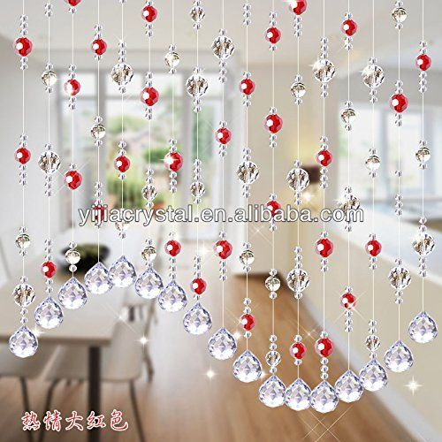Discount4product Crystal Bead Decorative Curtain 20
