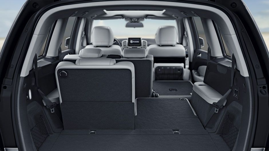 2016 Mercedes Gls Class Suv With Crystal Grey Black Leather And
