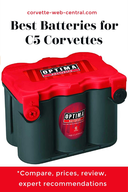 Best C5 Corvette Batteries Corvette Optima Battery Corvette Grand Sport