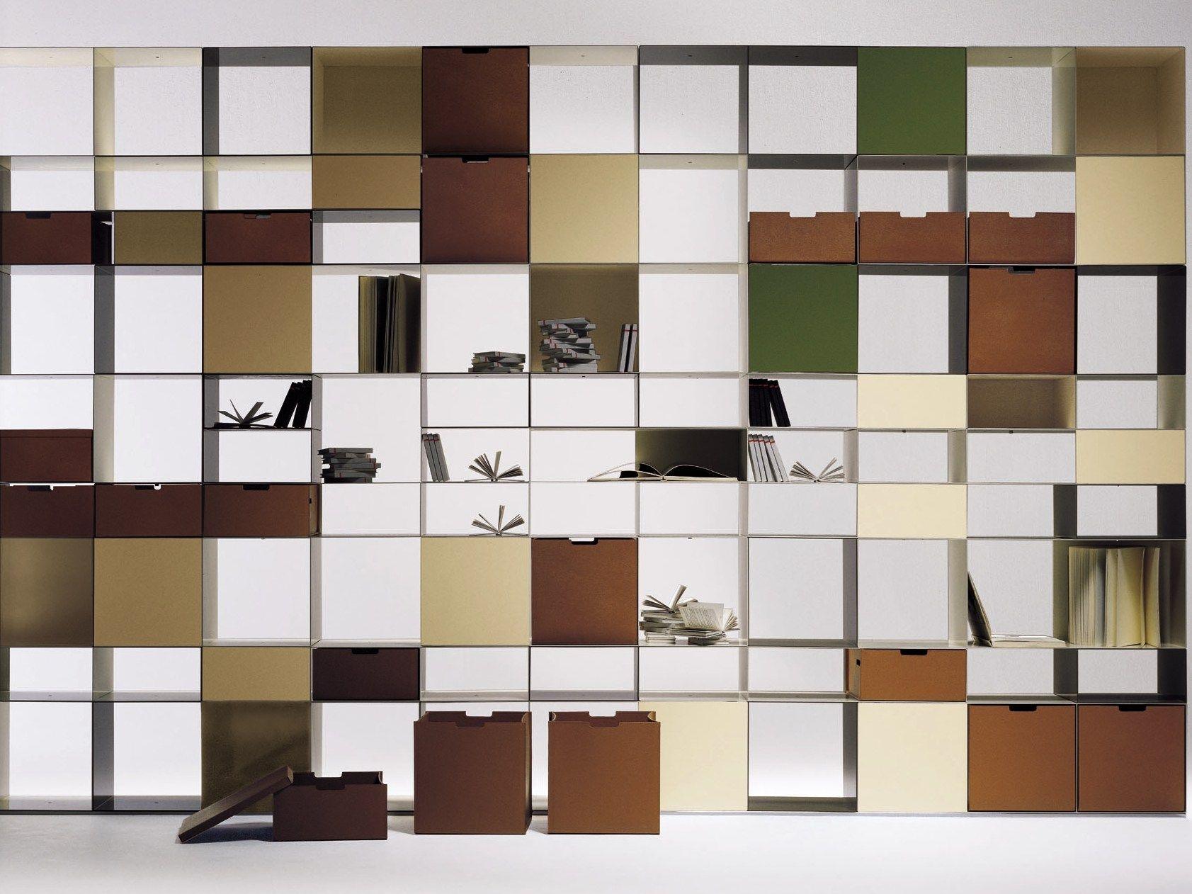 Infinity libreria by flexform design antonio citterio for Scaffalature metalliche ikea