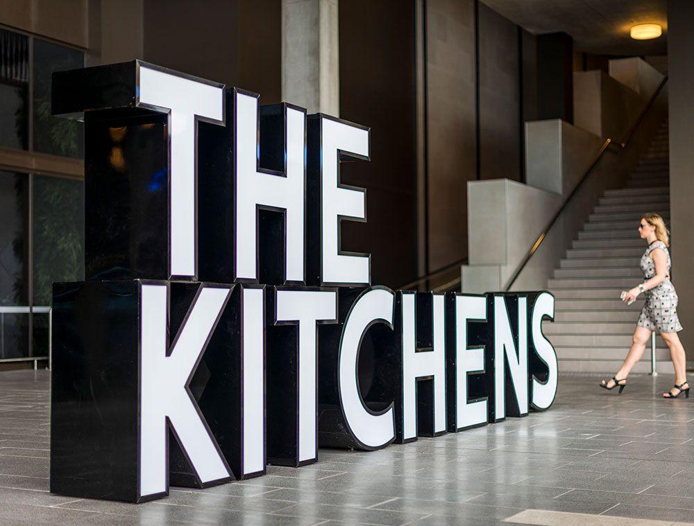 Https Www Strategicspaces Com Au Portfolio Items The Kitchens Outdoor Restaurant Design Environmental Graphic Design Exhibition Display Design