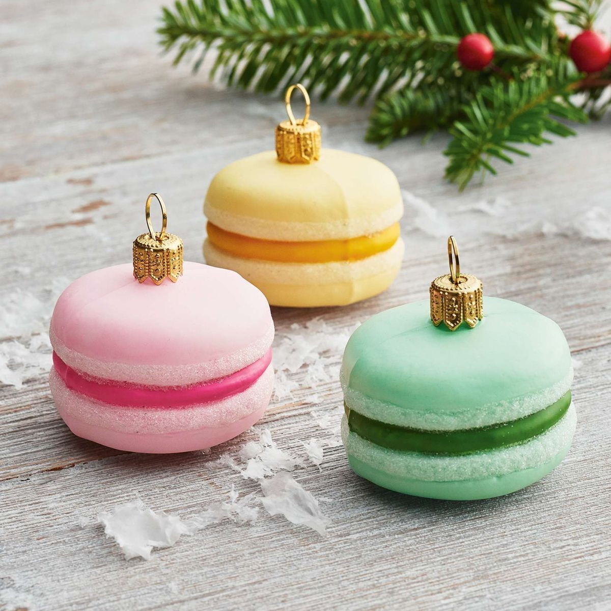 Christmas Macarons By Kate Lapszynski On All Is Merry