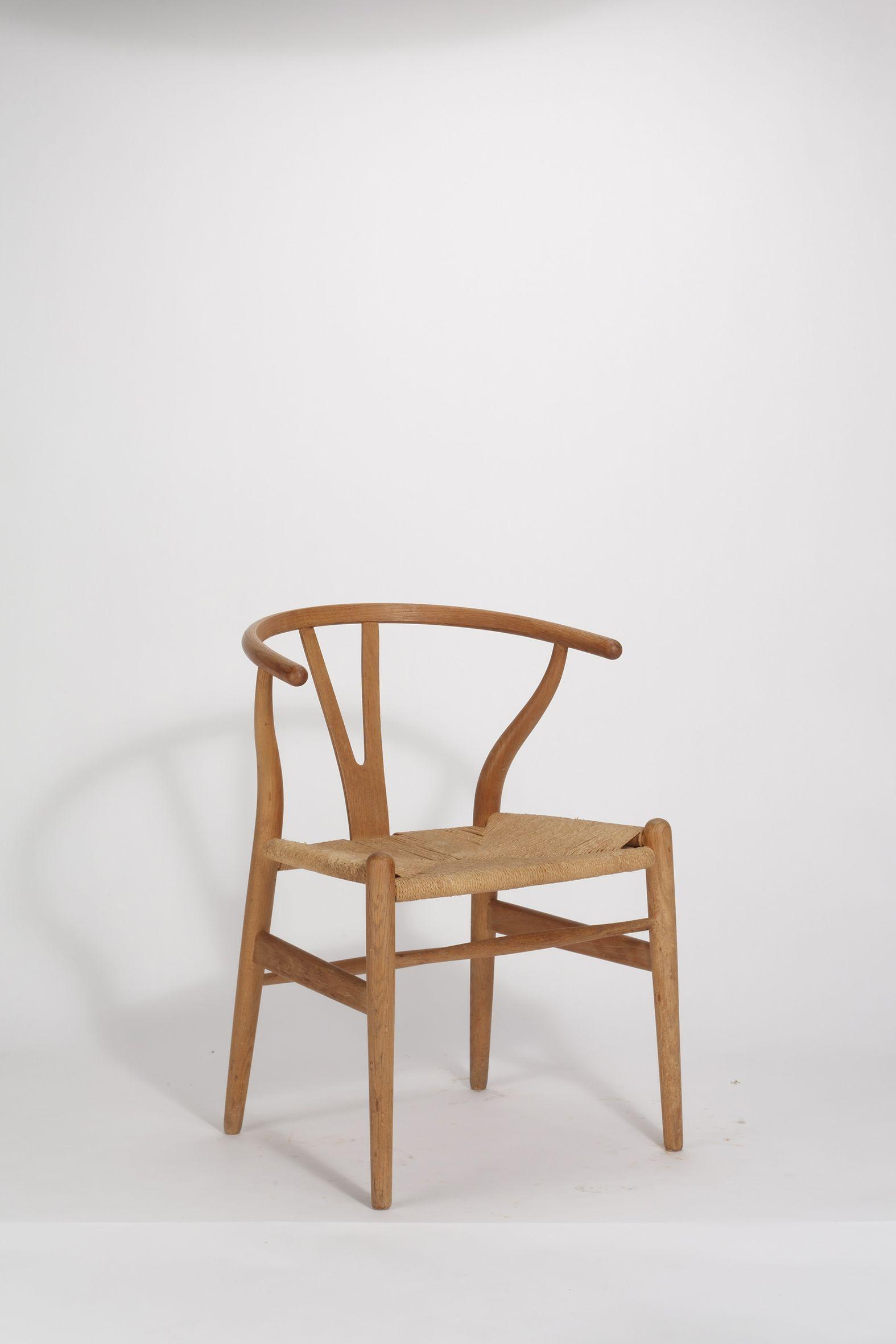 Hans j wenger y wishbone chair nr 24 1950