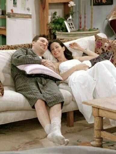Chandler Bing And Monica Geller