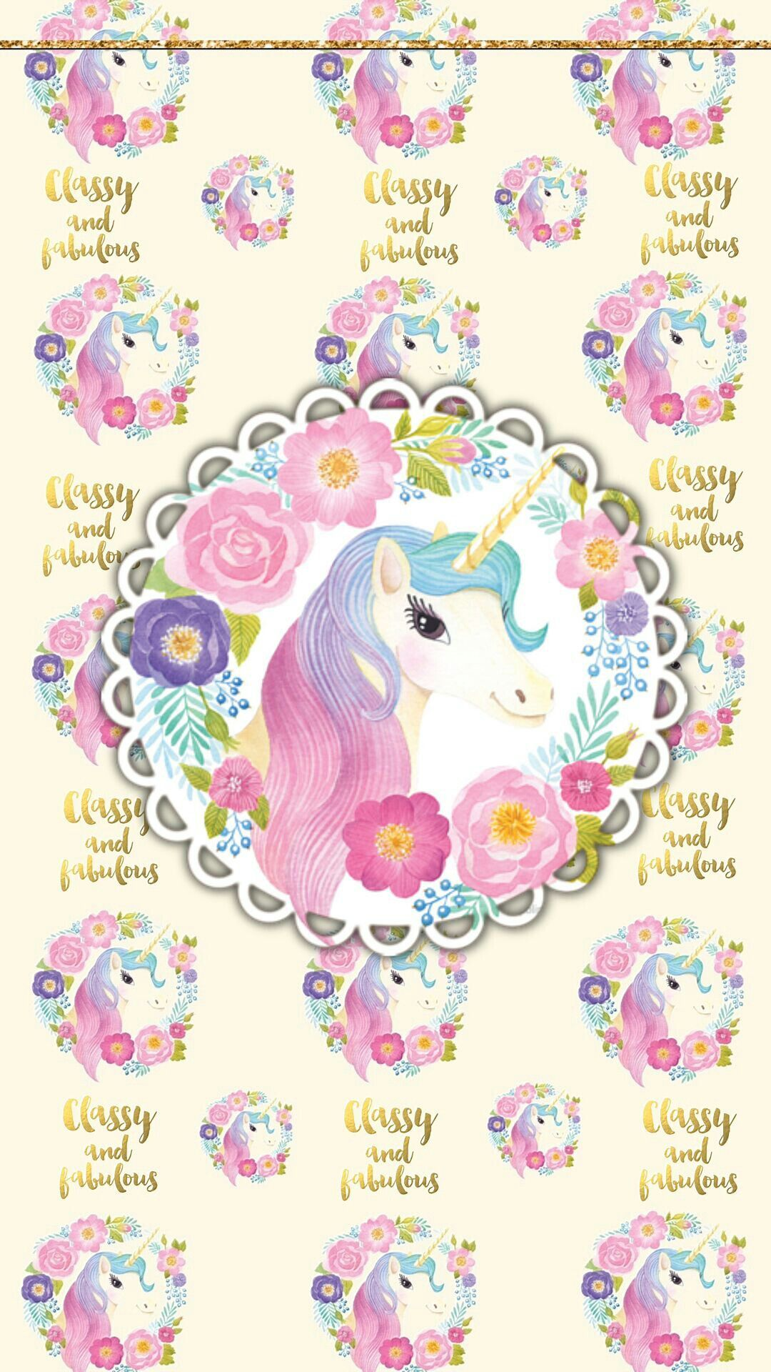 Pin By Camila Soares On More Wallz Ii Unicorn Wallpaper Baby Pink Wallpaper Iphone Cute Wallpapers