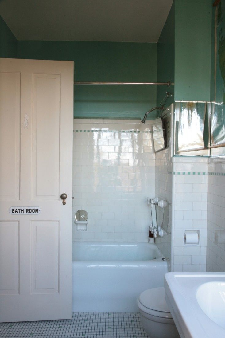 Pin by Laura Johnson on bath | Pinterest | Vintage bathrooms, Subway ...