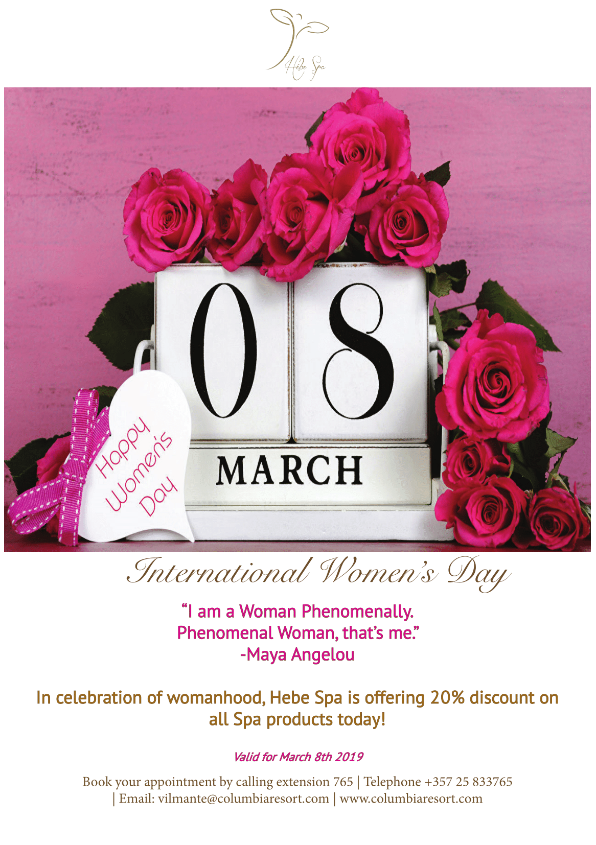 Happy Women S Day Spa Offer Spa Offers Happy Woman Day Luxury Holidays