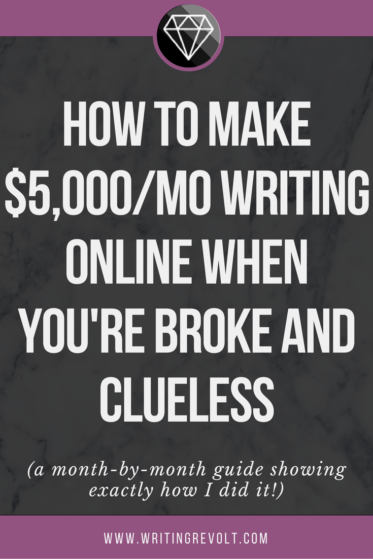 How I Built A 5k Mo Freelance Writing Business In 4 Months Make Money Writing Earn Money Online Fast Write Online