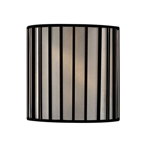 Black Drum Lamp Shade With Uno Embly